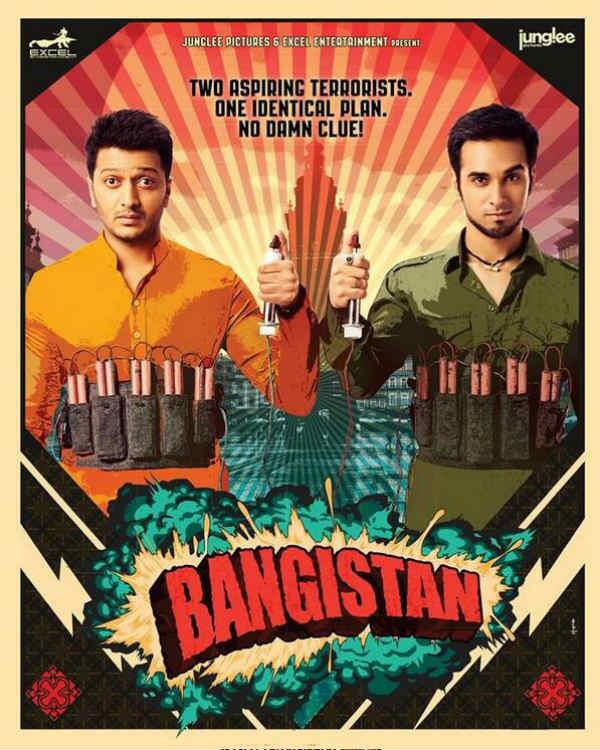 Bangistan poster: Riteish Deshmukh and Pulkit Samrat don't have a clue