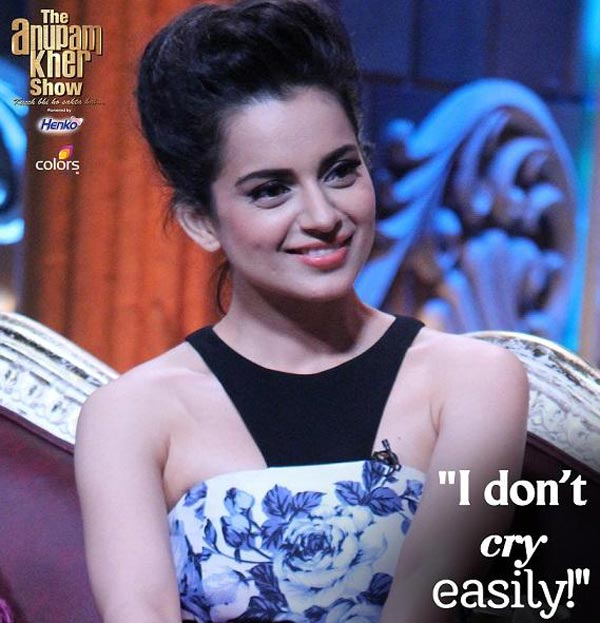 Kangana Ranaut's candid confessions on The Anupam Kher Show – watch video!