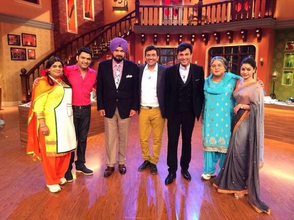 Comedy Nights with Kapil: Sanjeev Kapoor and Vikas Khanna add a delicious tadka to Kapil Sharma's show!