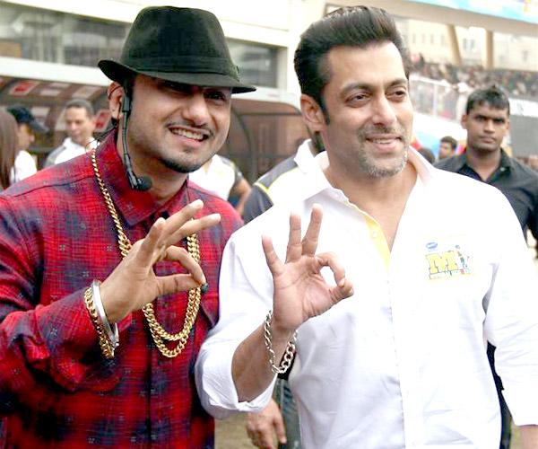After Shah Rukh Khan, Salman Khan impressed with Yo Yo Honey Singh!