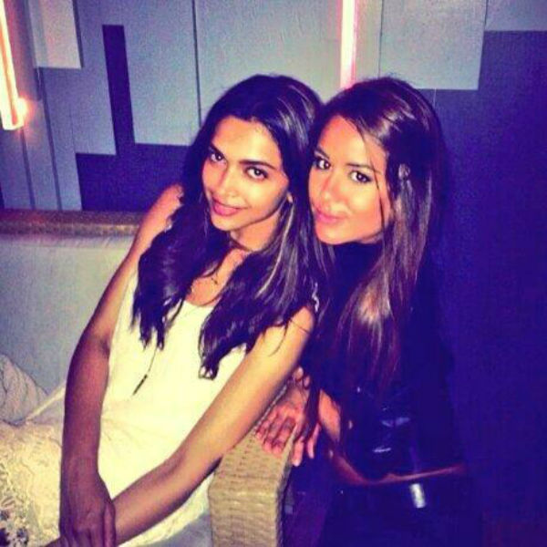 Spotted: Deepika Padukone poses with a fan in Corsica