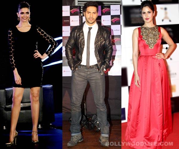 Why does Humpty Sharma Ki Dulhania's Varun Dhawan not want to work with Deepika Padukone and Katrina Kaif?