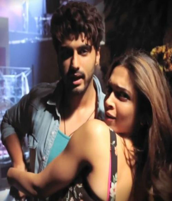 Deepika Padukone and Arjun Kapoor tell us why we should watch the trailer of Finding Fanny-watch video!