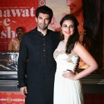 Aditya Roy Kapur and Parineeti Chopra launch the trailer of Daawat-e-Ishq-View Pics!