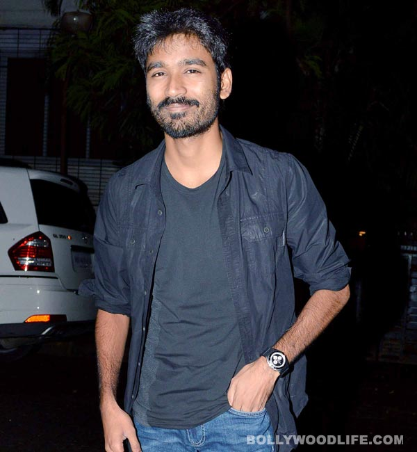 Dhanush takes a break from Shamitabh to celebrate birthday with family!