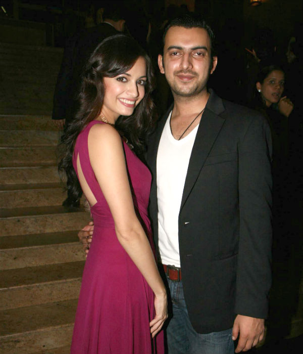 Dia mirza dating whom