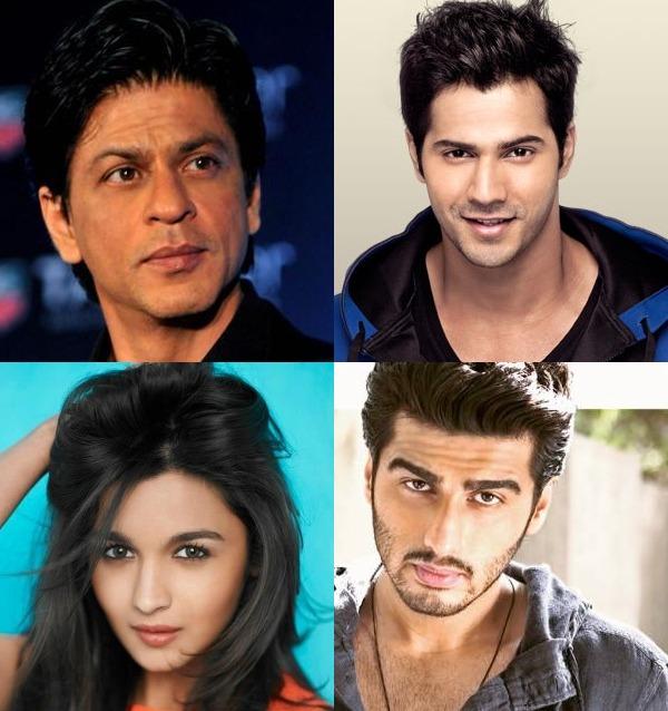 Shah Rukh Khan, Varun Dhawan, Arjun Kapoor and Alia Bhatt in Chalti Ka Naam Gaadi remake?