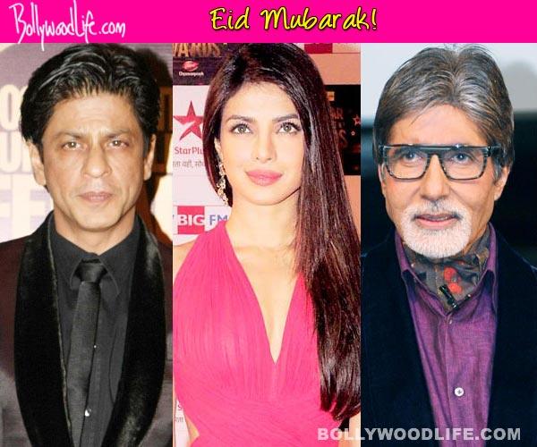 Eid Mubarak, tweet Shah Rukh Khan, Priyanka Chopra, Amitabh Bachchan!