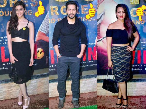 Alia Bhatt, Varun Dhawan, Sonakshi Sinha: Best and worst dressed celebs of B-town!