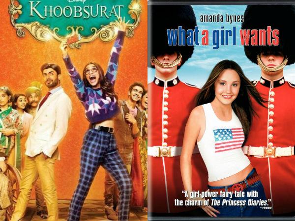 Sonam Kapoor-Fawad Khan starrer Khoobsurat copy of American film What a Girl Wants?