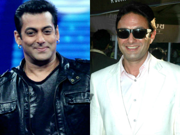 When Salman Khan and Ness Wadia visited an ashram...