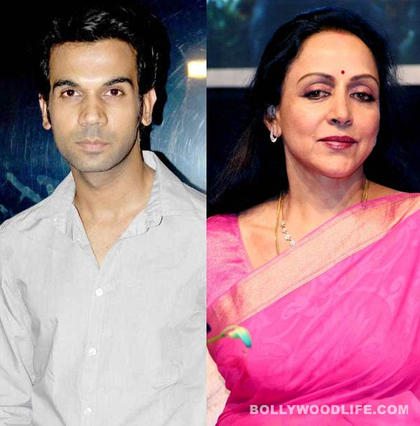 Rajkummar Rao excited to romance Hema Malini in Shimla Mirchi!