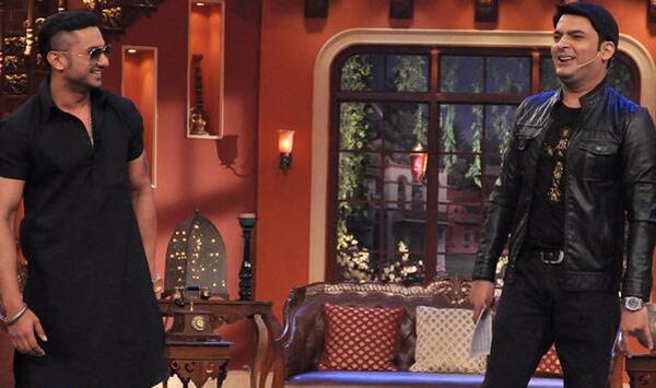 Comedy Nights with Kapil: Yo Yo Honey Singh and Kapil Sharma groove with the girls!