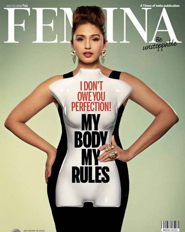 Huma Qureshi redefines fitness with her new cover!