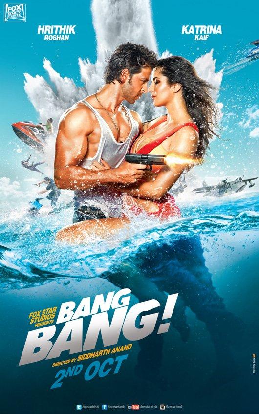 Hrithik Roshan-Katrina Kaif's Bang Bang to be released in Tamil and Telugu as well!