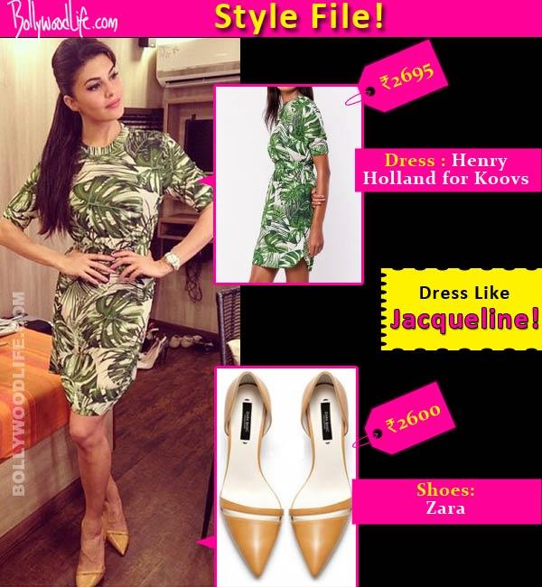 Style file: Get the Jacqueline Fernandez Kick promotional event look!