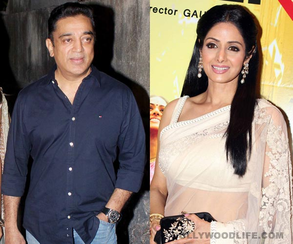 Sridevi in Kamal Haasan's Drishyam remake?