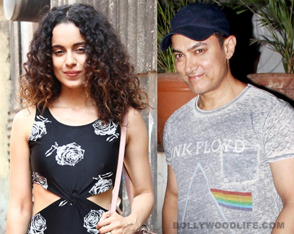 Kangana Ranaut following Aamir Khan's footsteps?