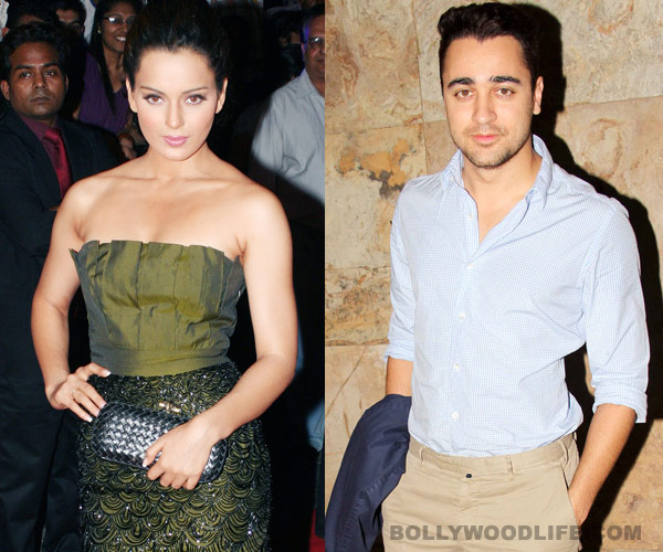 Kangana Ranaut to team up with Imran Khan?