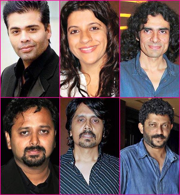 Karan Johar, Imtiaz Ali, Zoya Akhtar, Nagesh Kukunoor, Nikhil Advani and Nishikant Kamat - Directors who dared to make small films