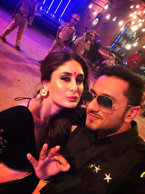 Kareena Kapoor Khan is a big fan of Yo Yo Honey Singh!
