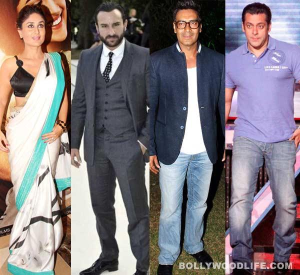 Kareena Kapoor: Saif Ali Khan would be a better cop than Ajay Devgn or Salman Khan!