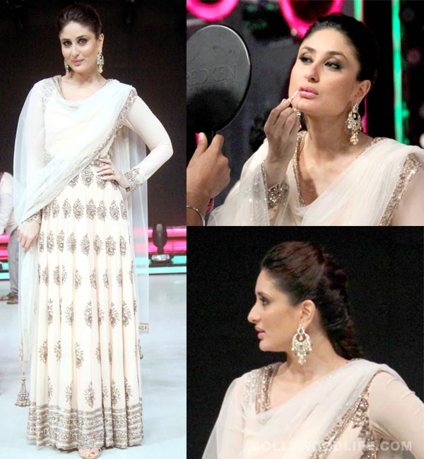 Kareena Kapoor rocks a Manish Malhotra outfit on the sets of Jhalak Dikhhla Jaa 7