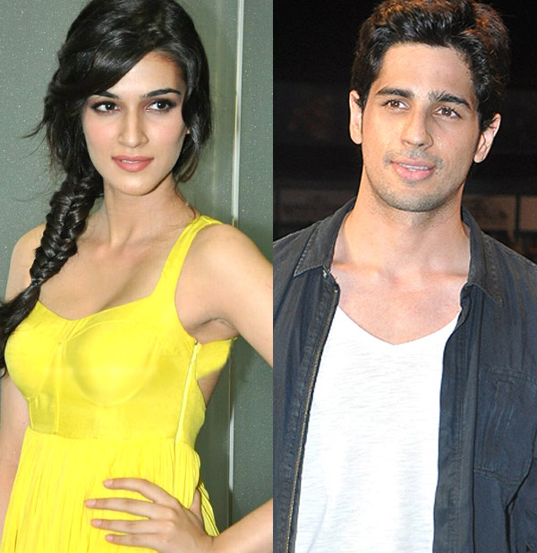 Kirti Sanon to be paired with Sidharth Malhotra?