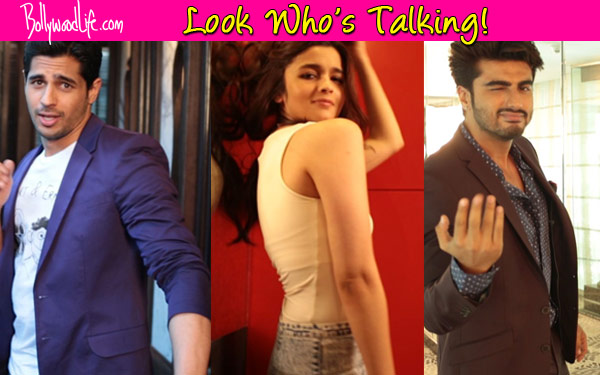 Alia Bhatt, Sidharth Malhotra and Arjun Kapoor groove for Look Who's Talking!