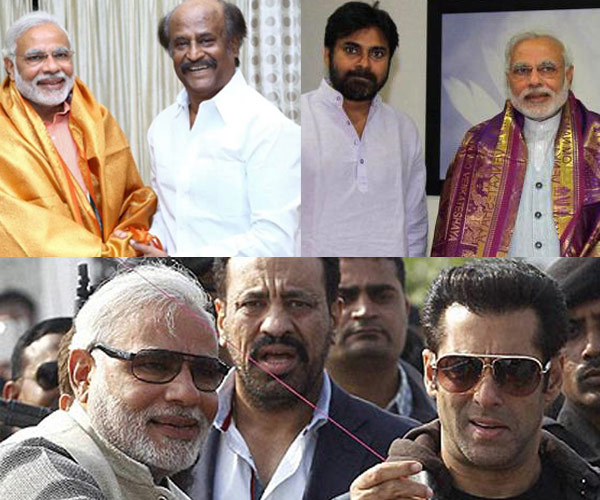 Union Budget 2014: Will Salman Khan and Rajinikanth benefit from Narendra Modi's friendship?