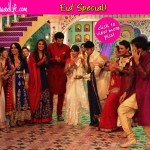 Eid Special: Karanvir Bohra, Surbhi Jyoti, Ravi Dubey have a selfie moment on the sets of Qubool Hai