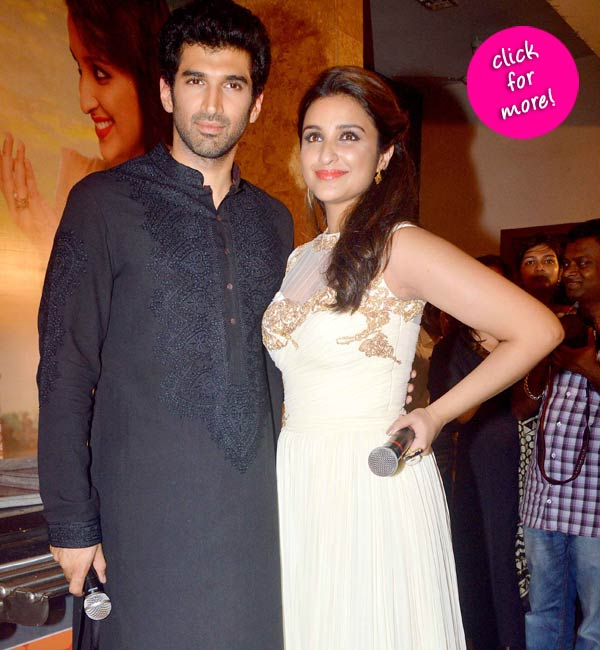 Daawat-e-Ishq trailer launch: Aditya Roy Kapur and Parineeti Chopra showcase their yummy love story!