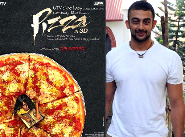 Arunoday Singh scared cabbies with his Pizza 3D look!