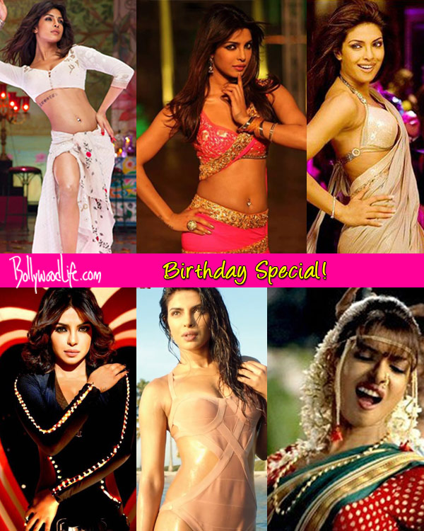 Priyanka Chopra birthday special: The Exotic babe's 7 sexy songs - Watch videos!