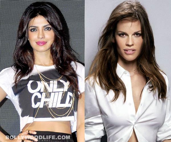 Sanjay Leela Bhansali compares Priyanka Chopra with Hillary Swank!