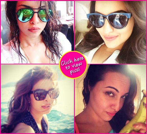Priyanka Chopra or Sonakshi Sinha: Who has hotter selfies? Vote!