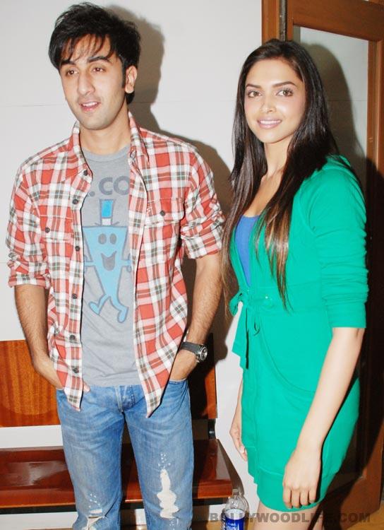 Is Deepika Padukone nervous to work with Ranbir Kapoor?