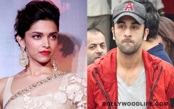 Deepika Padukone ignores Ranbir Kapoor in France