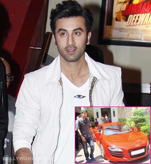 Want to drive Ranbir Kapoor's car?