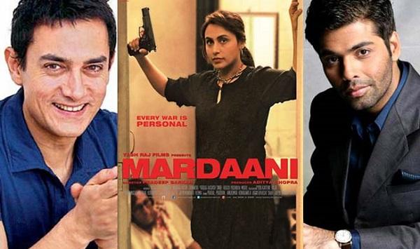 Rani Mukerji's Mardaani act impresses Aamir Khan, Mukesh Ambani, Shekhar Kapur and Karan Johar