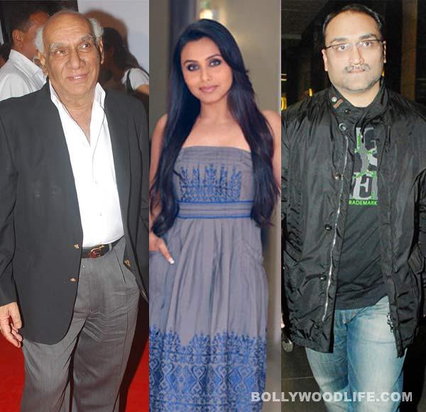 Yash Chopra blessed Rani Mukerji and Aditya Chopra on their wedding day!