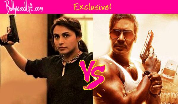 Is Mardaani's Rani Mukerji taking a dig at Singham Returns' Ajay Devgn?