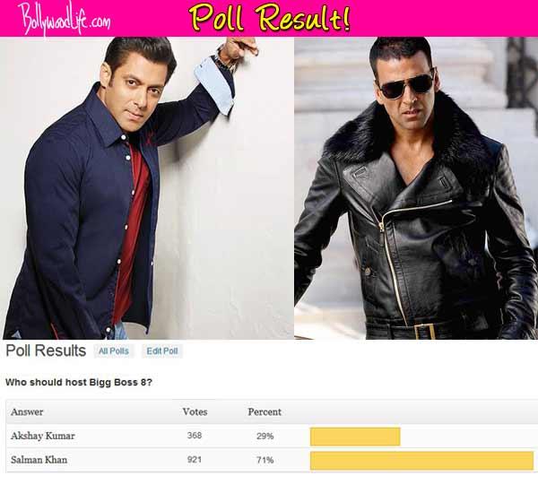 Bigg Boss 8: Salman Khan better host than Akshay Kumar, say fans!