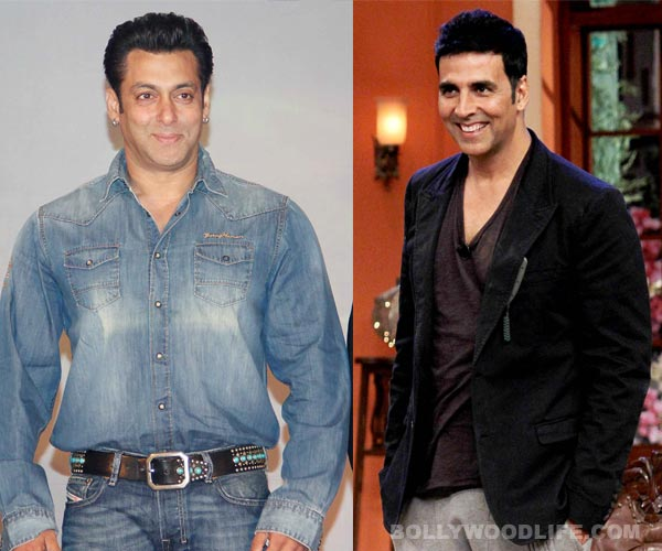 Salman Khan is the most generous actor in Bollywood, thinks Akshay Kumar!