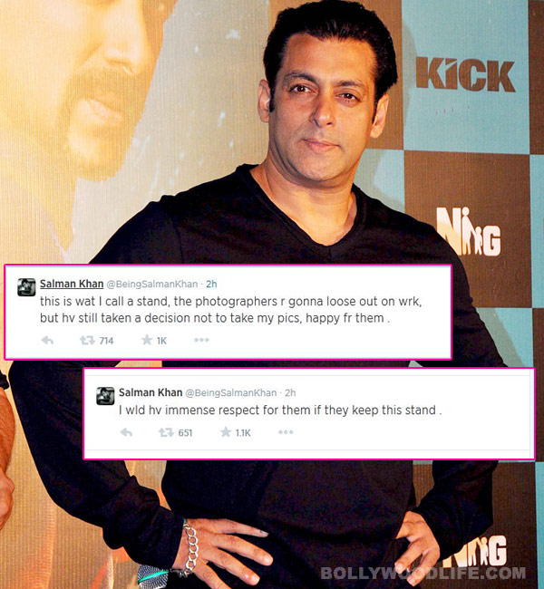 Why the photographers ban on Salman Khan won't work!