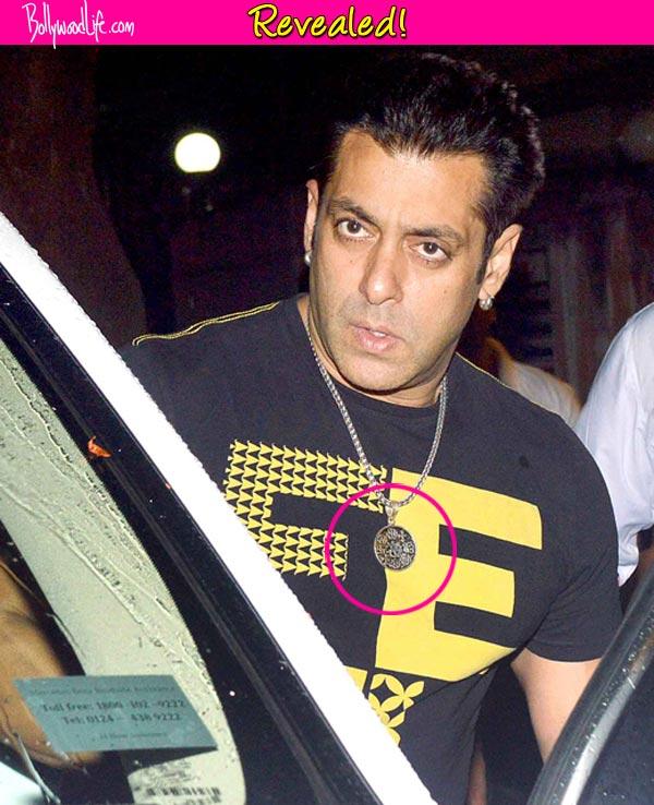 Salman Khan wears a holy locket during Ramadan