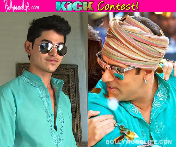 Kick contest: Gulrez Khan gets to wear Salman Khan's outfit from Kick!