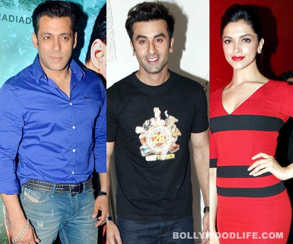 Salman Khan bans Ranbir Kapoor and Deepika Padukone from Kick's bash?