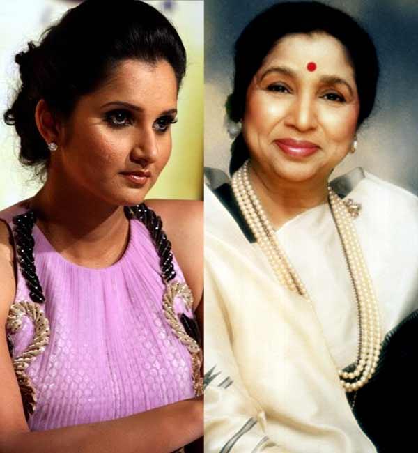 Asha Bhosle: Like Sania Mirza, I too was labeled anti-national by a politician!