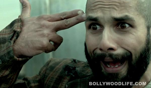 Haider trailer: Shahid Kapoor reveals his wacky avatar!